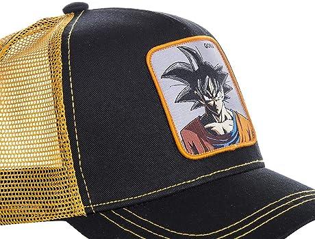 Collabs Gorra Dragon Ball Z Goku Trucker Negro OSFA (Talla única ...