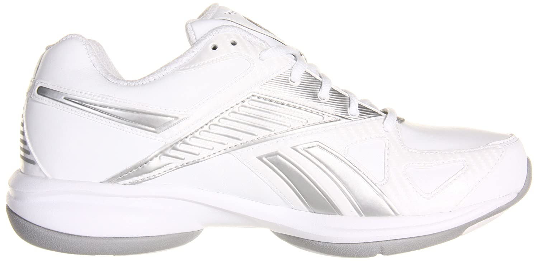 Reebok Women's Simplytone Fitness US White/White/Silver Shoe B002R0ELL0 7 B(M) US White/White/Silver Fitness e59161