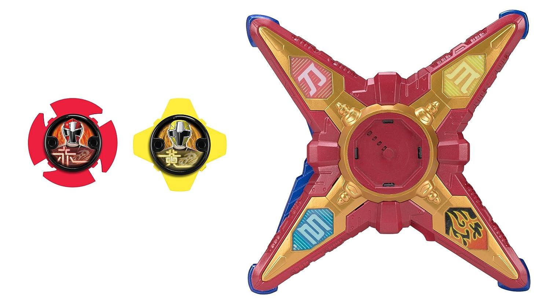 Power Rangers Ninja Steel DX Ninja Battle Morpher Red Morpher