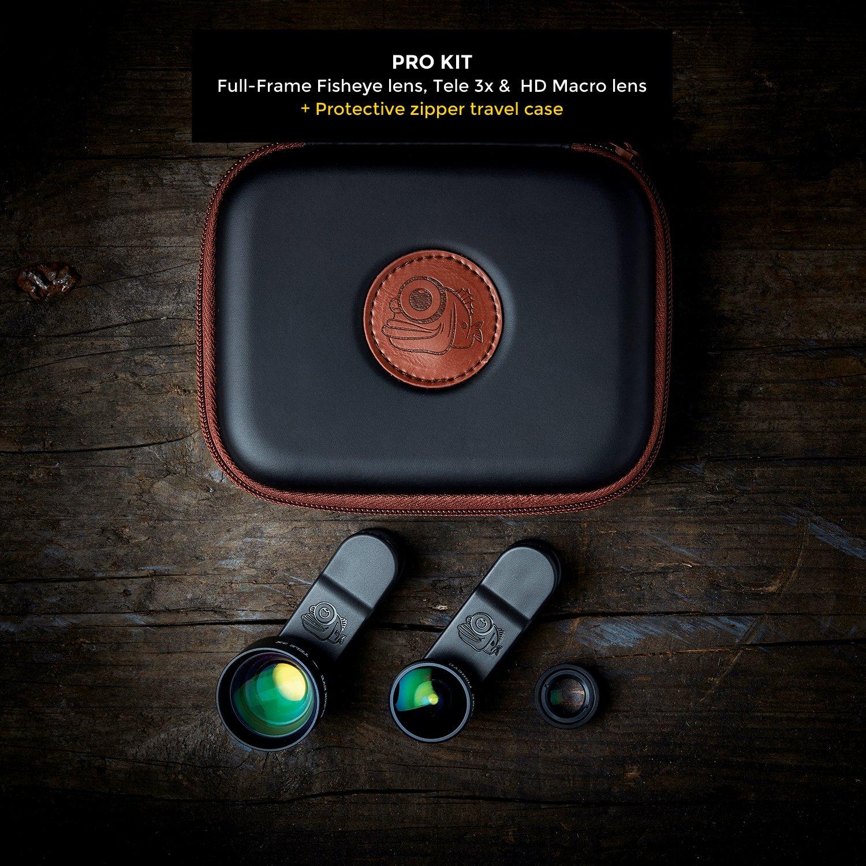 Black Eye Premium Smartphone Objektiv PRO Series - Pro: Amazon.de ...