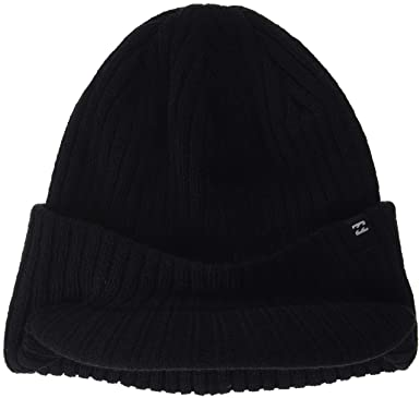 f77c78296d2 Amazon.com  Billabong Arcade Brim Beanie One Size Black  Clothing