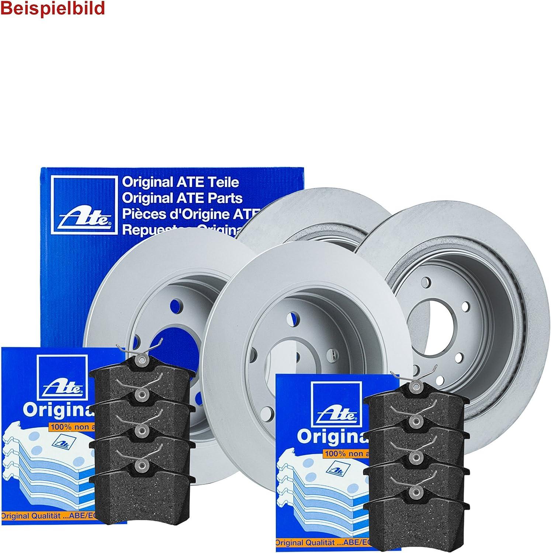 ATE BREMSSCHEIBEN+BREMSBEL/ÄGE SET VORNE+HINTEN Bremskl/ötze Bremsbelagsatz Brake Disks Brake Pads