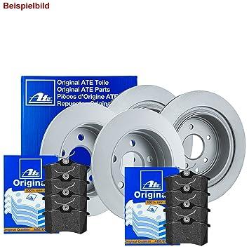 Meyle Bremsscheiben+bremsbel/äge Set Vorne+hinten Bremskl/ötze Bremsbelagsatz Brake Discs Brake Pads
