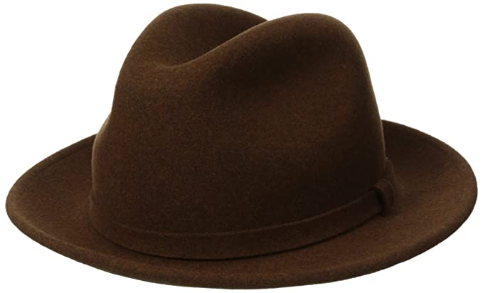Pantropic Men Litefelt Charlie Stingy Brim Fedora at Amazon Men s ... 65e4ac49934