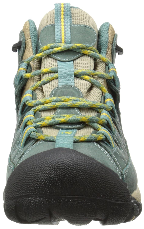 KEEN Targhee II Mid Damen Schuh Mineral Trekkingschuhe Outdoor Freizeit Mineral Schuh Blau Blau 9d0191
