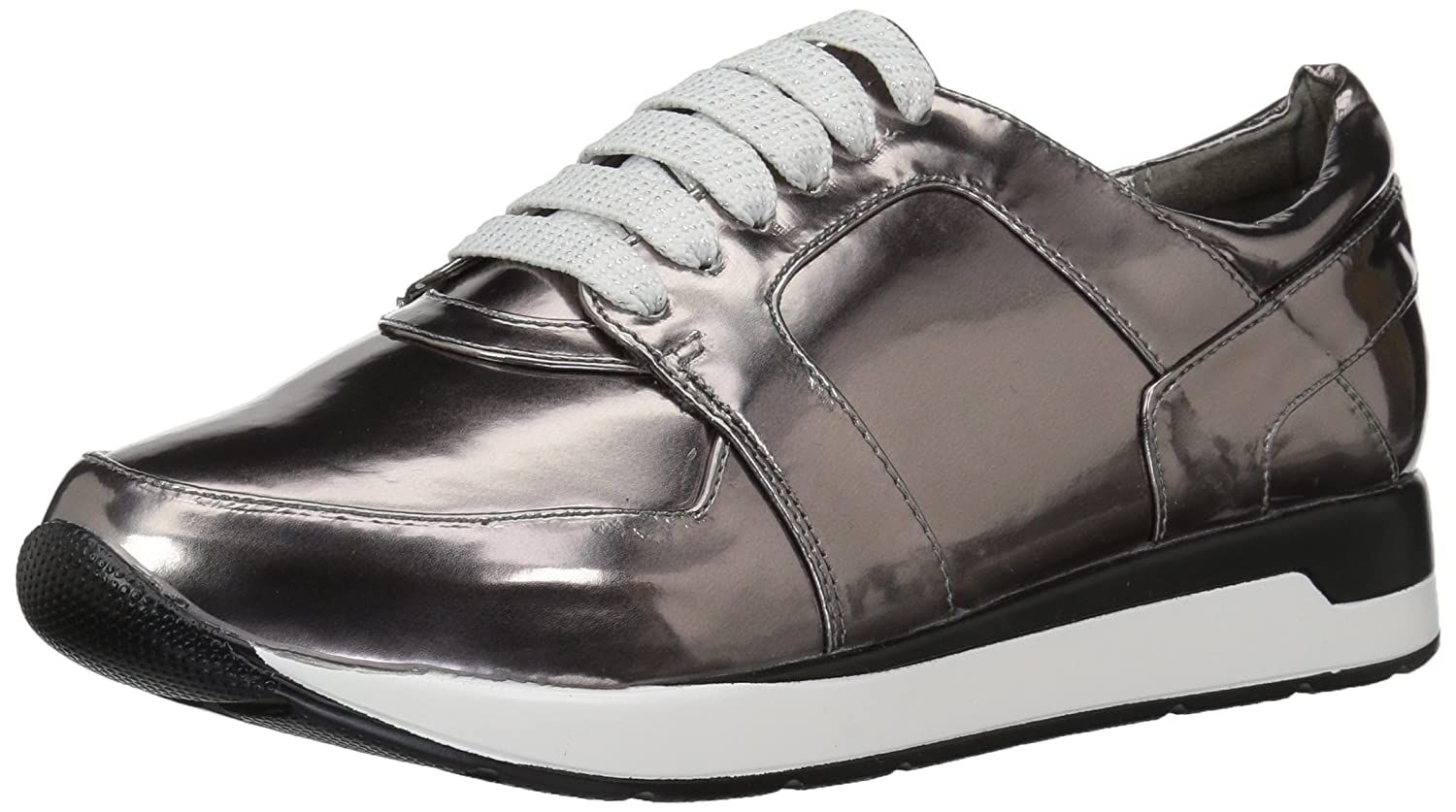 Penny Loves Kenny Women's Techno Fashion Sneaker B073VTD9T3 9 W US|Pewter Metallic