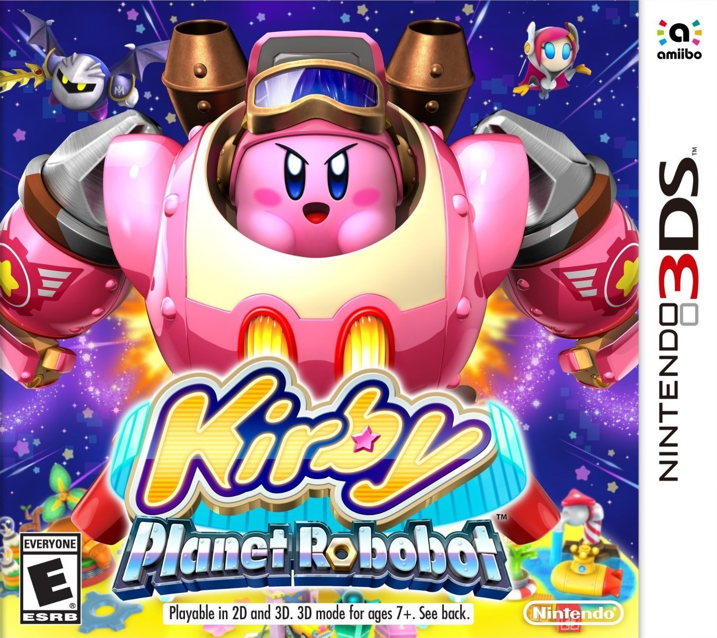 Amazon.com: Kirby: Planet Robobot - 3DS [Digital Code]: Video Games