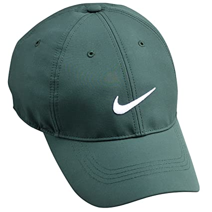 780ba9fbe05 Image Unavailable. Image not available for. Color  Nike Golf Tech Swoosh Cap  ...