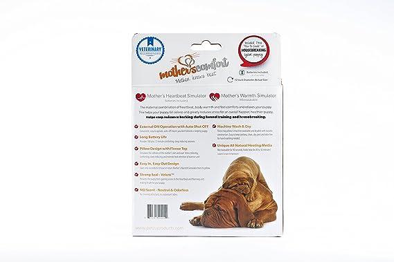 Mothers Comfort MCHPCE02 Almohada Latido Materno, Marrón: Amazon.es: Productos para mascotas