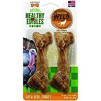 Nylabone Wild Turkey Healthy Edibles - Net202Tpp, medium Brown