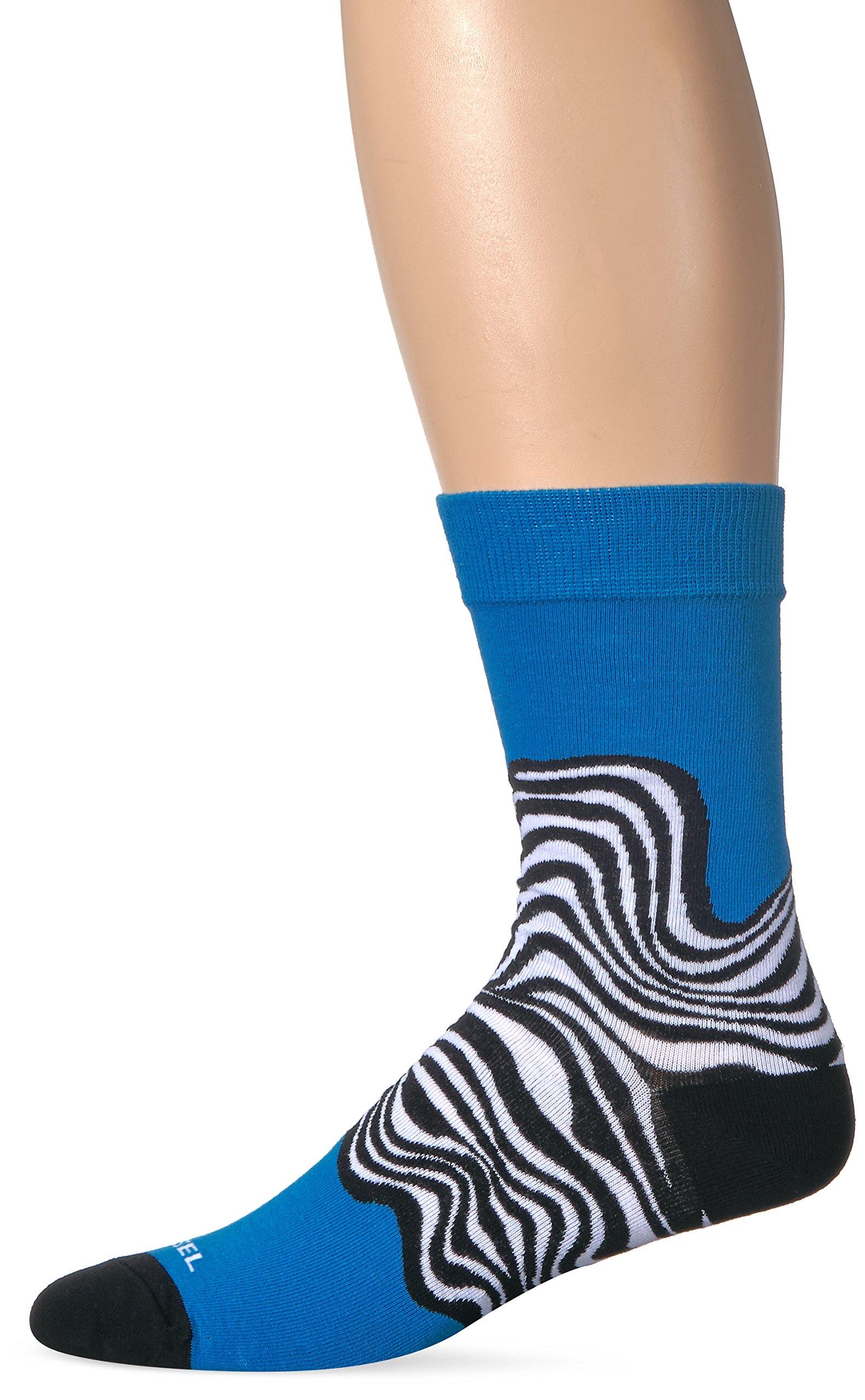 Diesel Men's SKM-RAY Socks Raves for Braves, Blue, S