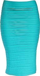 460483e3f4 KMystic Strapless Tube Dress and Pencil Midi Bodycon Skirt in One