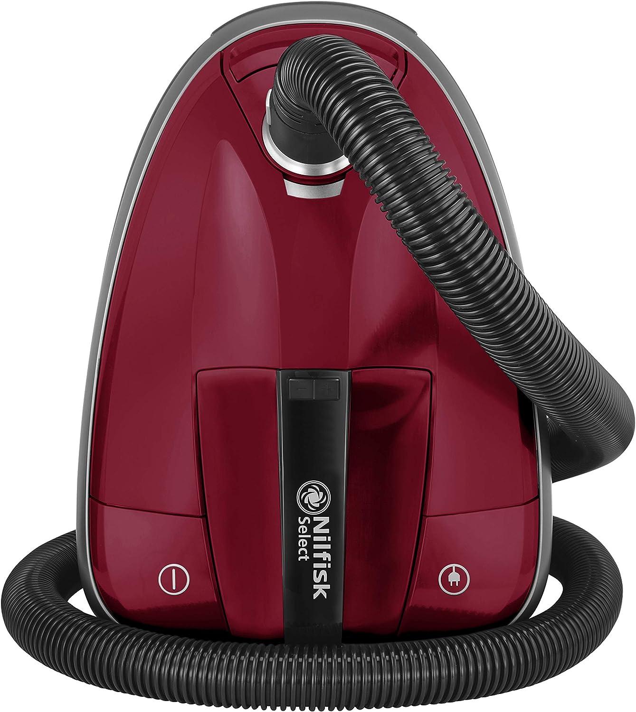 Nilfisk Select Classic DRCL13E08A2 Aspirador de Trineo, Rojo: Amazon.es: Hogar