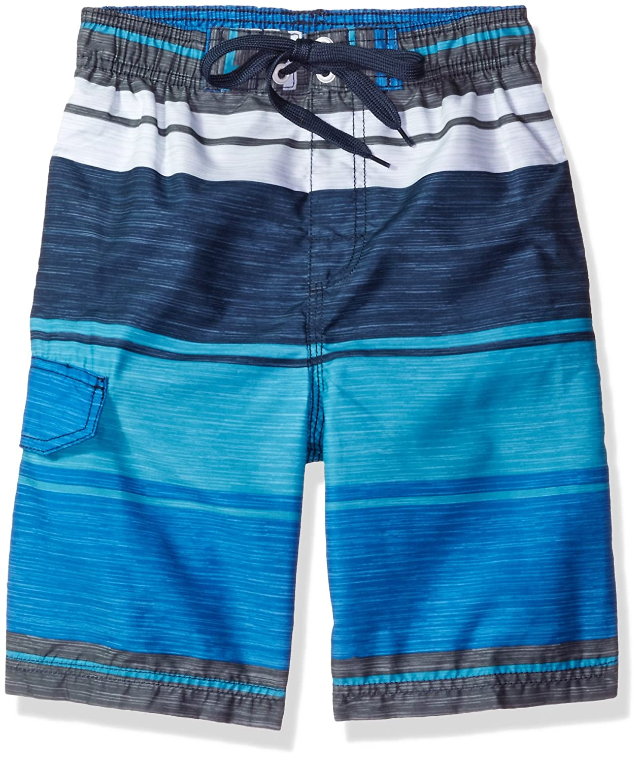 Kanu Surf Baby Boys' Toddler Impact Stripe Swim Trunk 4420