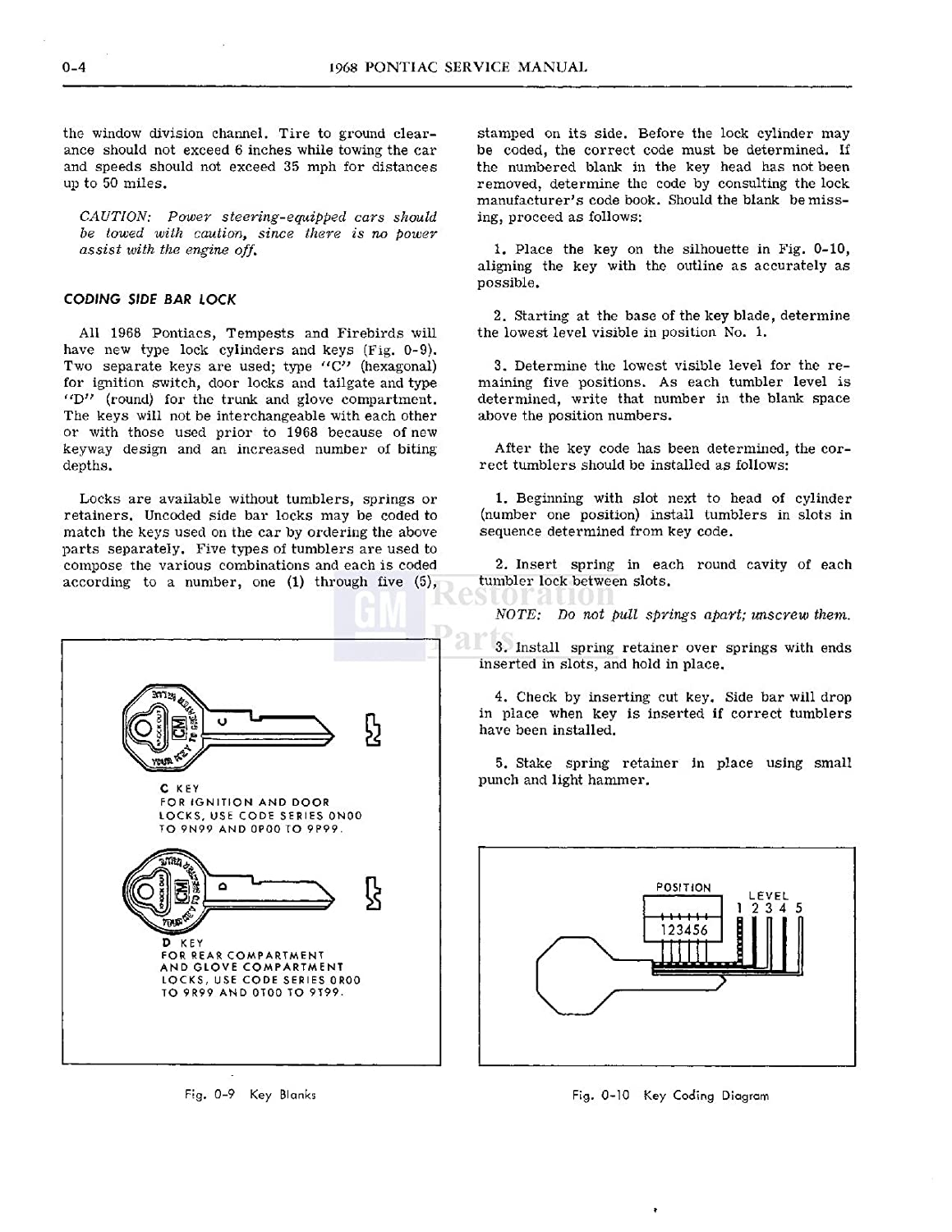 Amazon.com: 1968 PONTIAC REPAIR SHOP & SERVICE MANUAL - Firebird, GTO,  Tempest, LeMans, Grand Prix, Bonneville, Executive, and Catalina.