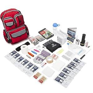 Emergency Zone 2 Person Family Prep 72 Hour Survival Kit/Go-Bag