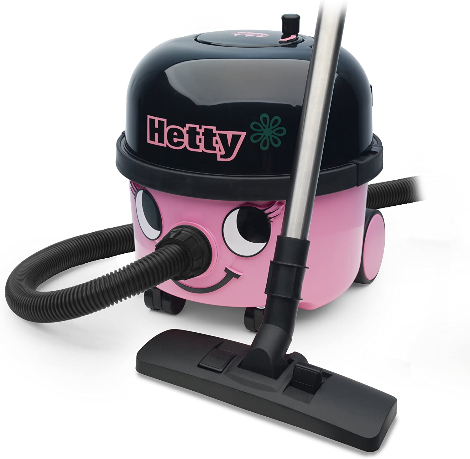Amazon Com Numatic Het200a Hetty Canister Vacuum Cleaner Pink Health Personal Care