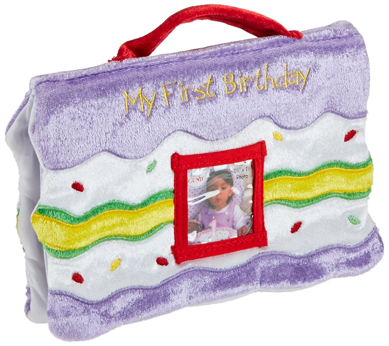 Amazoncom My First Birthday Photo Album Car Seat Toys Baby