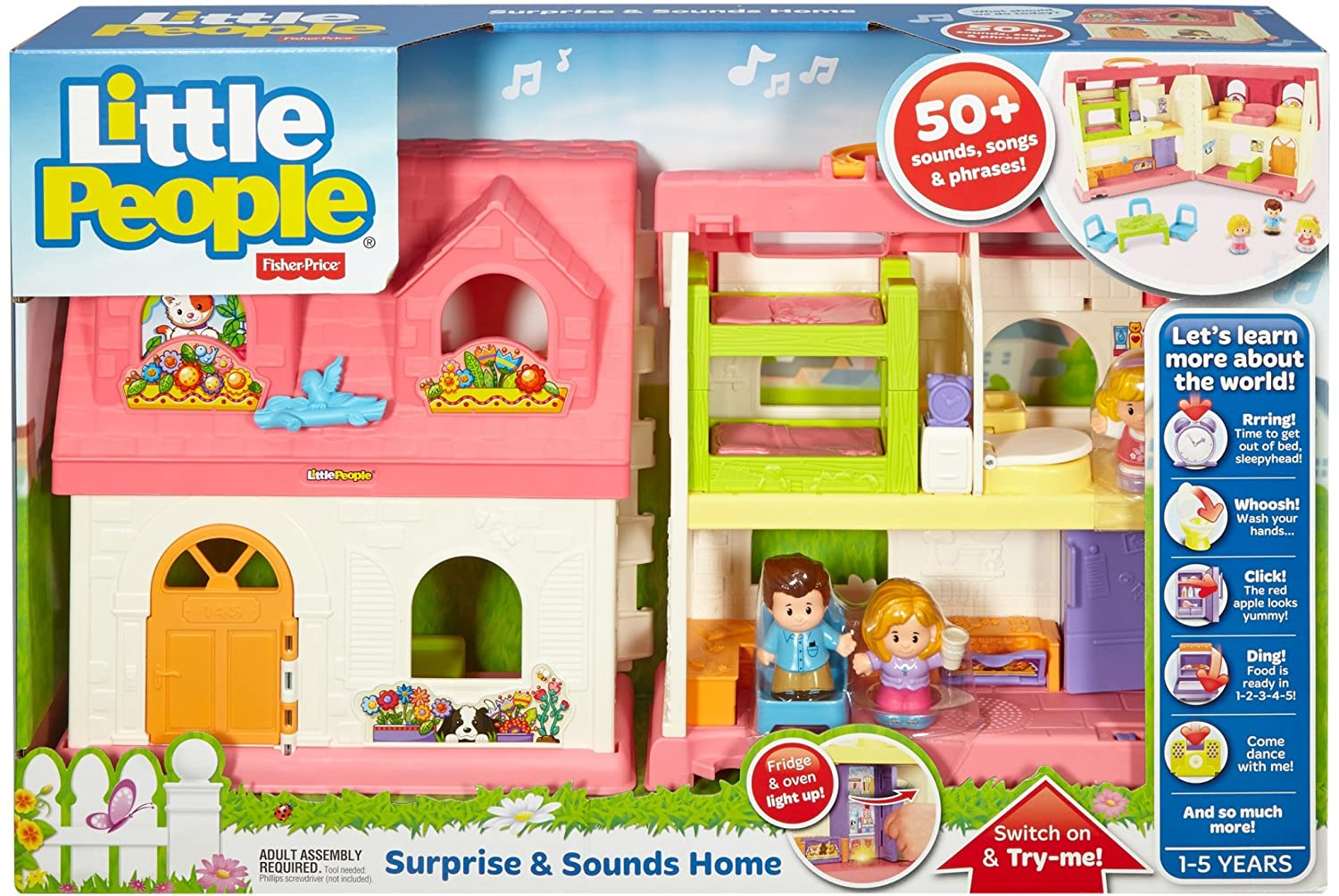 Amazon Fisher Price Little People Surprise & Sounds Home
