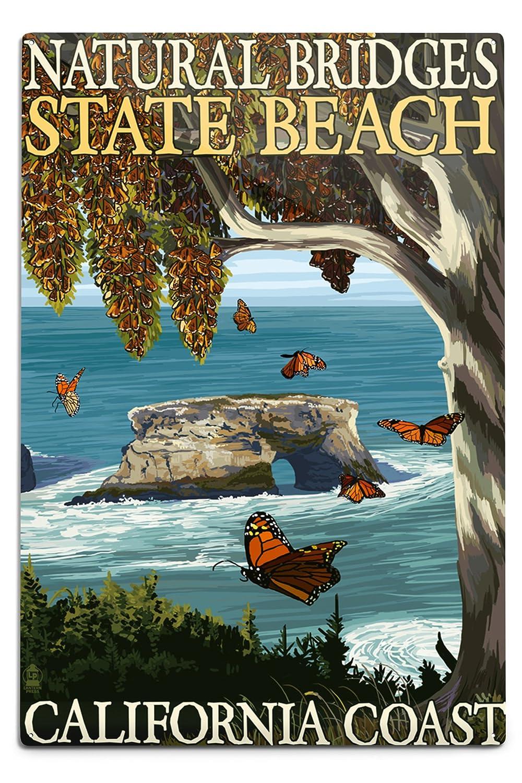 【期間限定】 Natural 12 18 Bridges State Beach x , California Coast Cotton Towel LANT-34548-TL B06Y1FKD6V 12 x 18 Metal Sign 12 x 18 Metal Sign, クニミマチ:ec4394d0 --- aikurei.co.jp