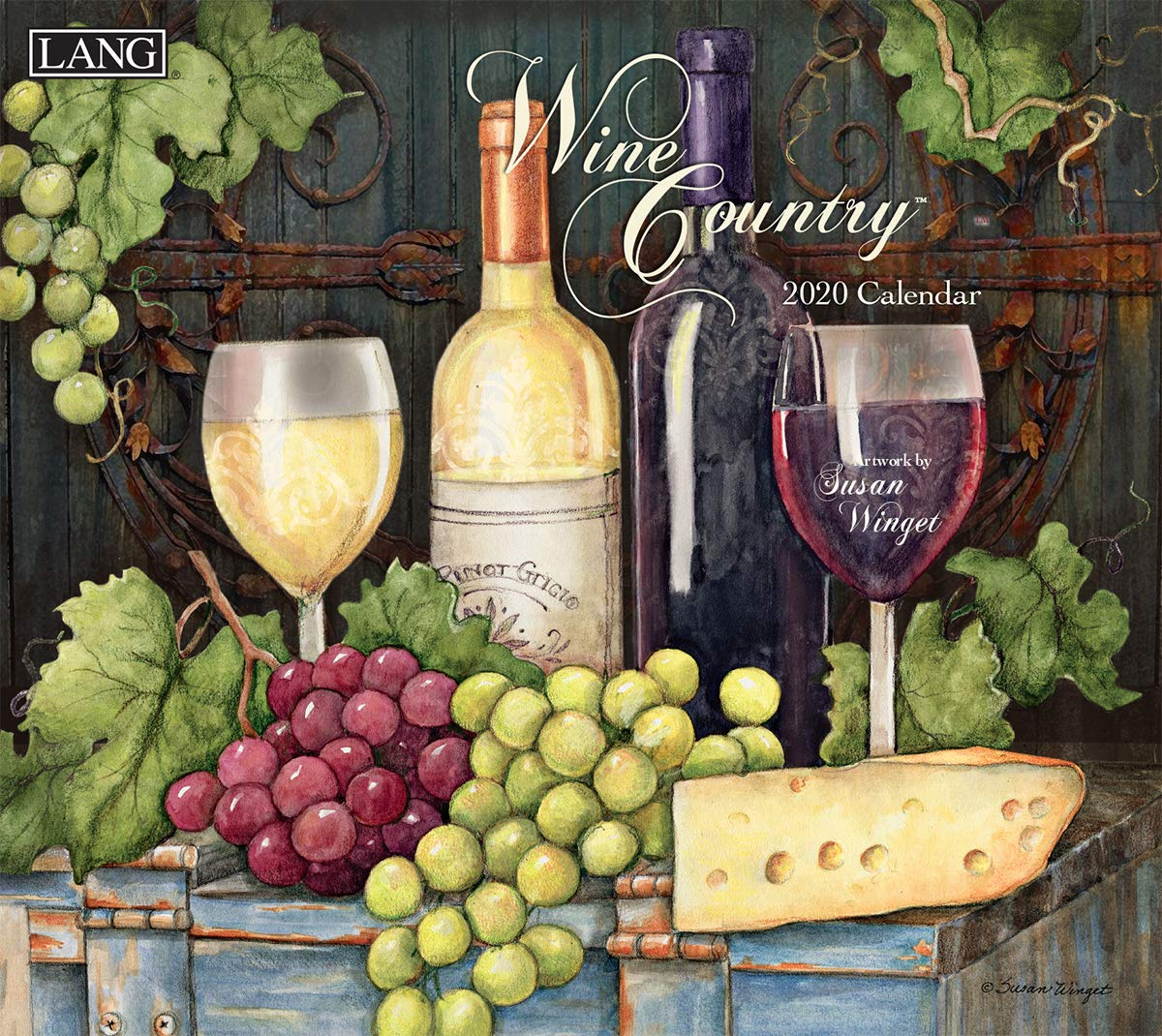 Wine Calendar 2020 Amazon.: The LANG Wine Country 2020 Wall Calendar (20991001885