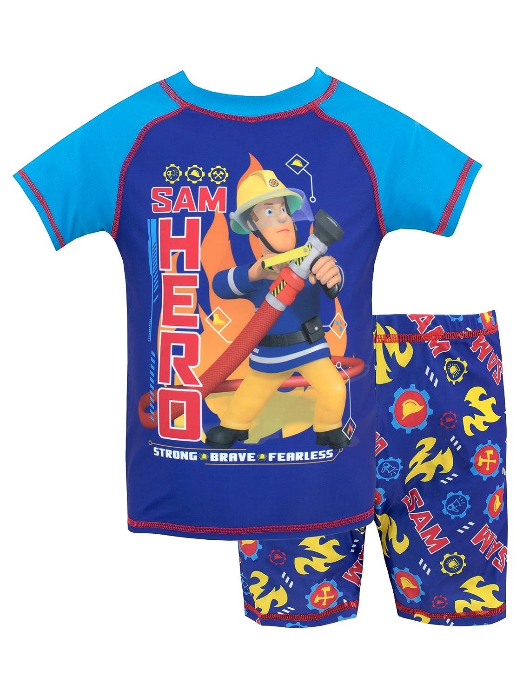 Fireman Sam Boys' Sam Two Piece Swim Set