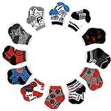 Marvel Spiderman 12 Pair Assorted Color Socks...