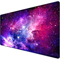 Gaming Mouse Pad, HaiZR Extended Large Mouse Mat with Stitched Edges, Premium-Textured Long XXL Desk Pad, Waterproof…