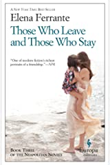 Those Who Leave and Those Who Stay: Neapolitan Novels, Book Three Paperback