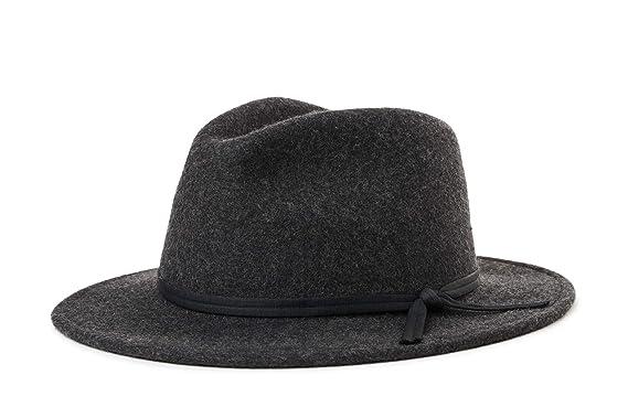 98abce94615864 Amazon.com: Brixton Men's Coleman Fedora: Clothing