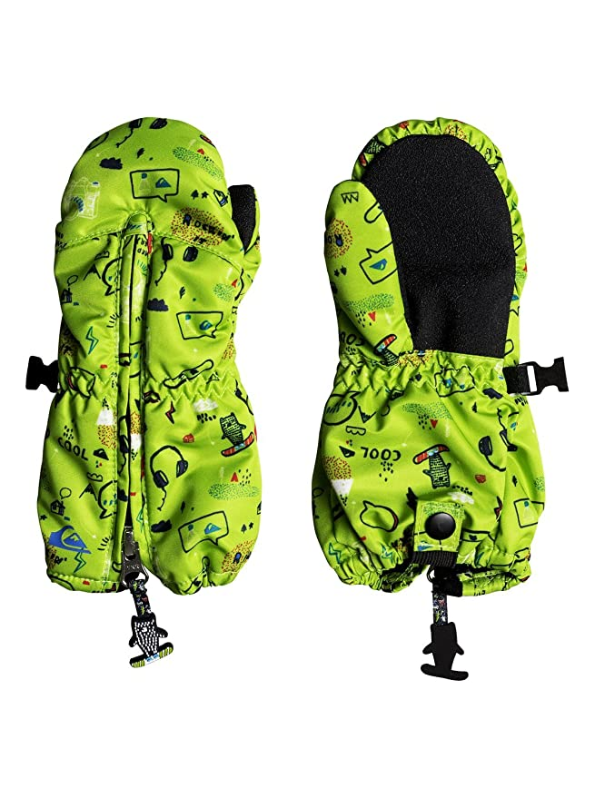 5b4a3abae Amazon.com  Quiksilver Boys Indie Kids Mitt Snow Glove  Clothing