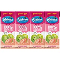 RUBICON GUAVA & APPLE NO ADDED SUGAR 200ML PACK OF 4