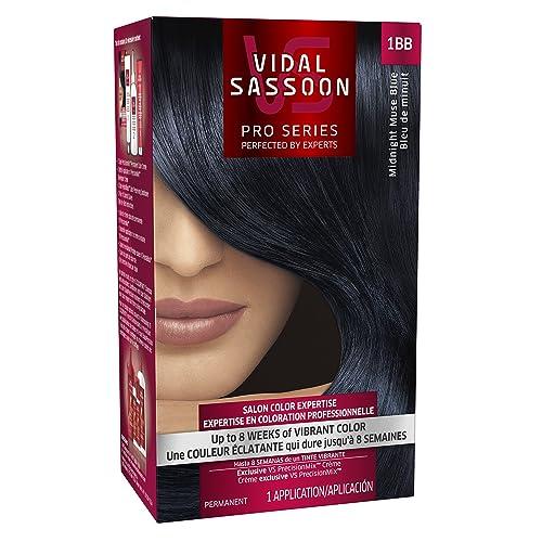 vidal sassoon london luxe midnight muse blue - Midnight Blue Black Hair Color