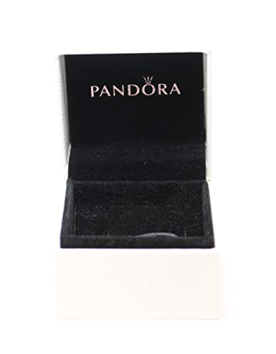 Pandora Unisex Travel Jewellery Box White Lining Black 5 0 X 5 0 X 4 Leather White