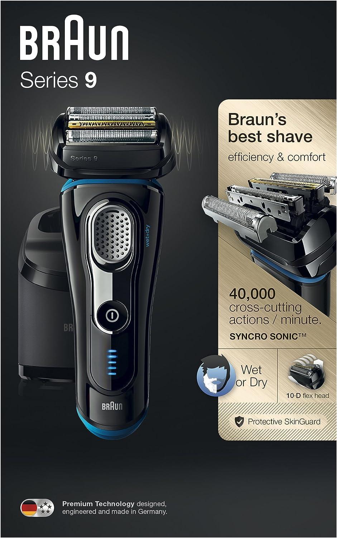 Braun Series 9 9280cc Wet&Dry Máquina de afeitar de láminas ...