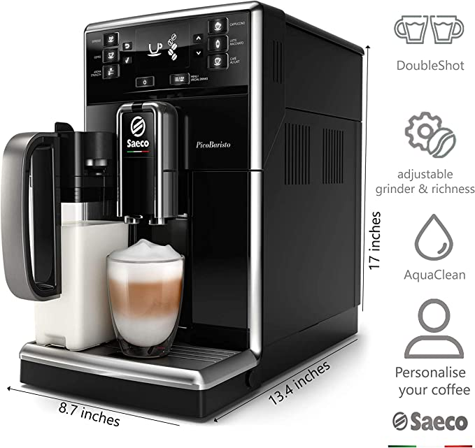 Philips Saeco SM5470/10 cafetera eléctrica Independiente Máquina ...