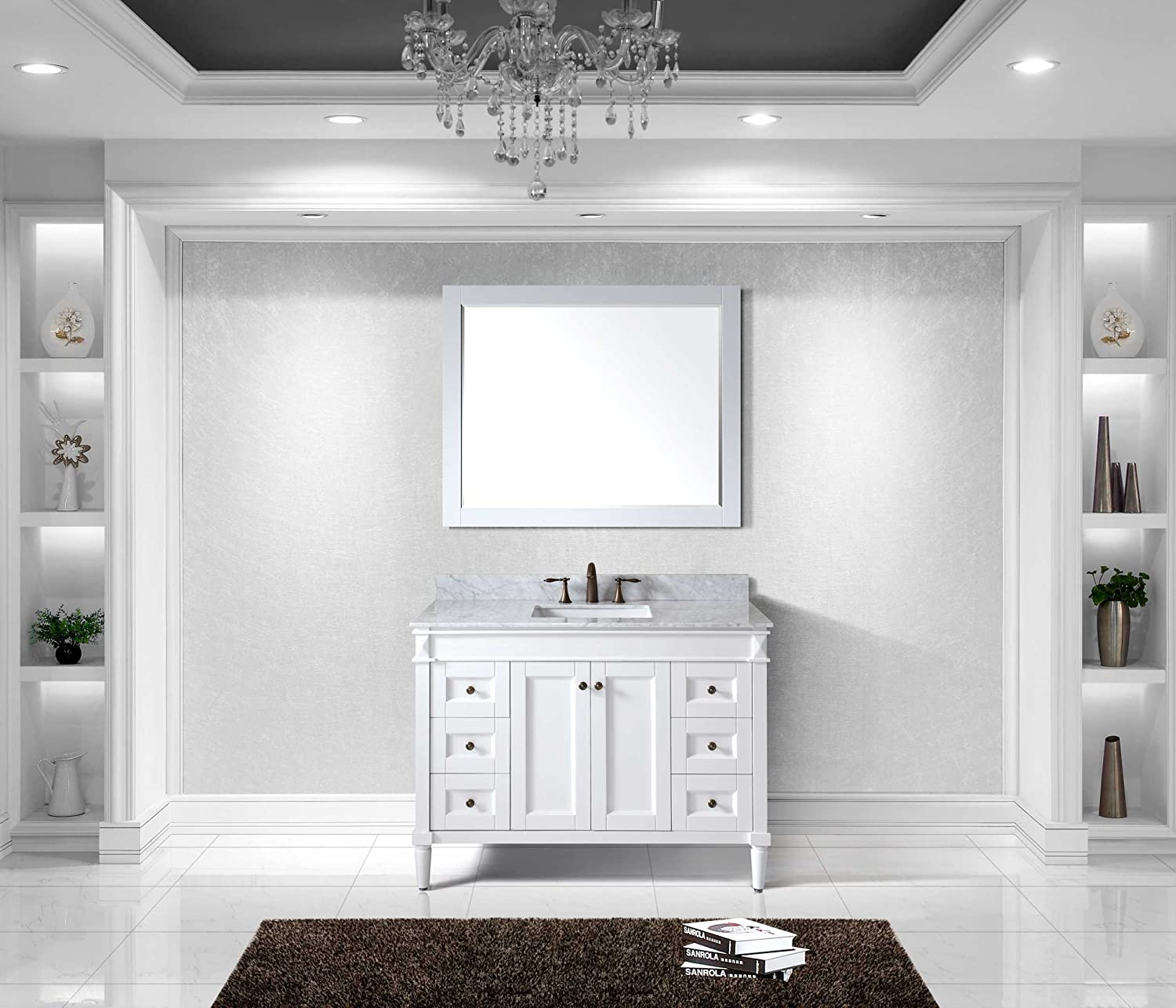 sink narrow inch the option modern dual for gray bathroom depth vanity of combo