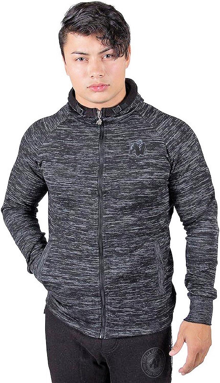 Gorilla Gr.M Wear Keno Zipped Hoodie Schwarz Grau Gr.M Gorilla b798e6