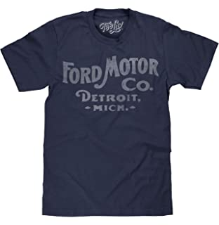 cd0ab6443 Amazon.com: Tee Luv Ford Big and Tall T-Shirt - Ford Motor Company ...