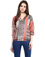Mayra Women's Georgette Top