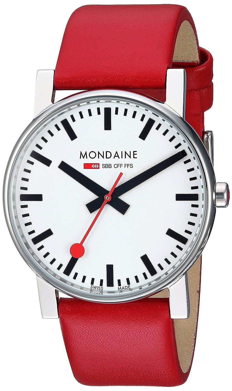 Mondaine Herren-Armbanduhr SBB Evo 38mm Analog Quarz A660.30344.11SBC