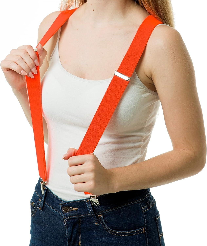 Bretelle eleganti a forma di Y con 3 clip shenky unisex