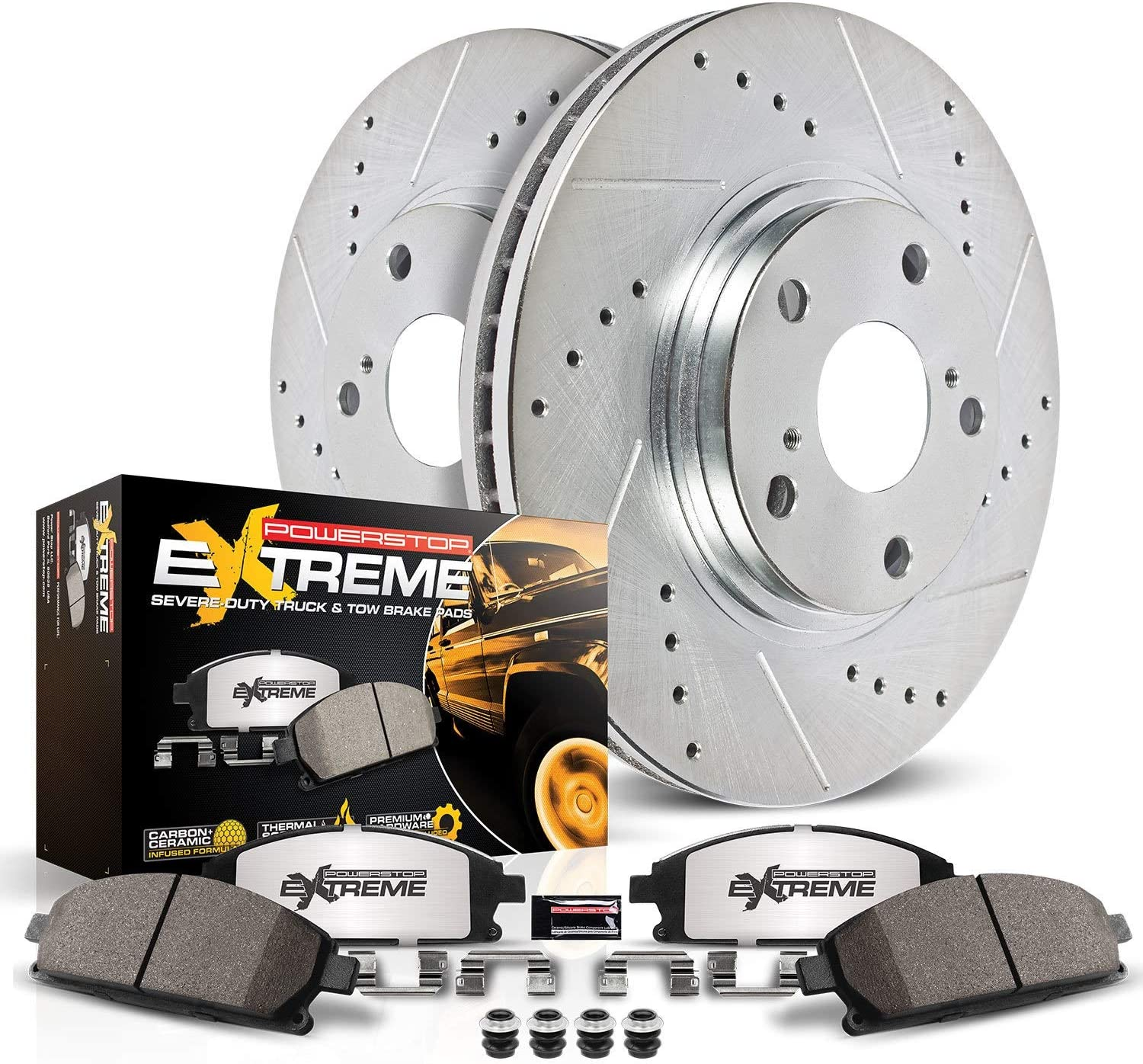 Power Stop Truck & Tow Front Brake Kit