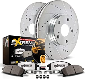 Power Stop K3090-36 Rear Z36 Truck and Tow Brake Kit