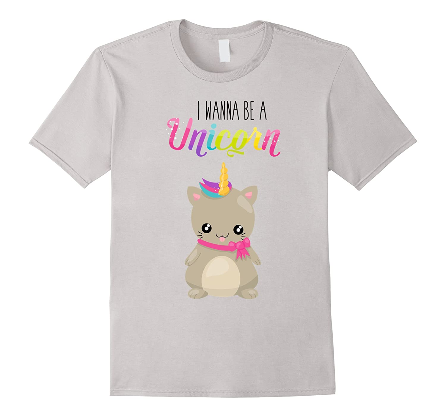 Adorable and Cute Cat Unicorn T Shirt For Women, Kids-CL