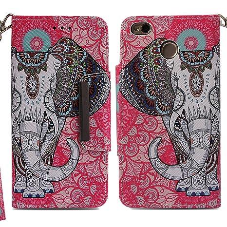xifanzi Xiaomi Redmi Note 4X / Note 4 Funda Carcasa Libro de Cuero con Tapa y Cartera Protección PU Cover Protectora Billetera Patrón de Animales ...
