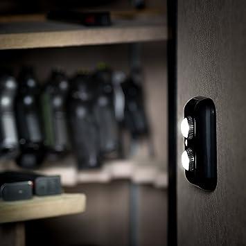 Pistola seguro luz con PIR Sensor de movimiento luz de activación – dos ajustable y giratorio