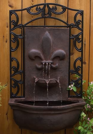 Exceptionnel The Bordeaux   Outdoor Wall Fountain   Weathered Bronze   Water Feature For  Garden, Patio