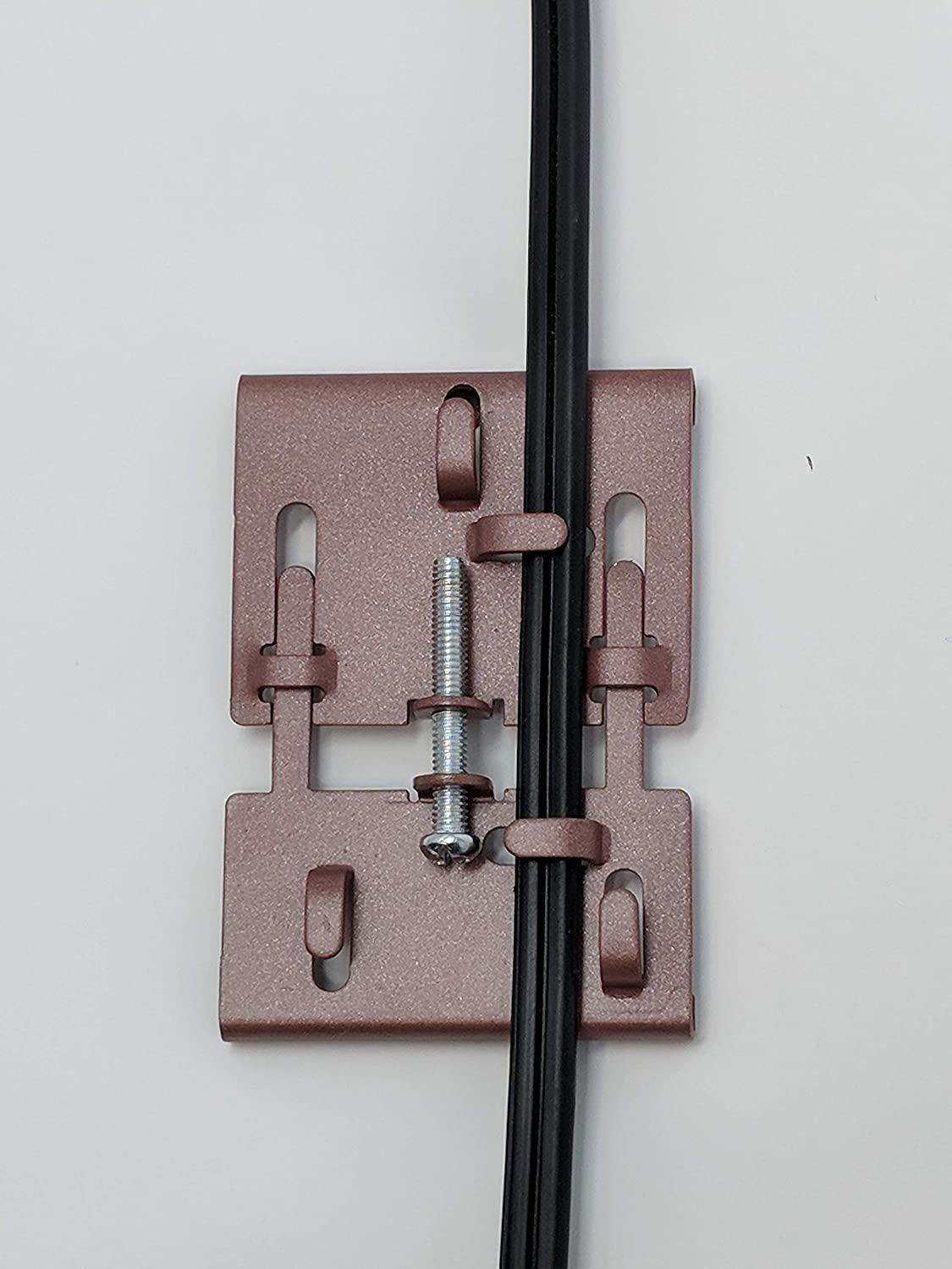 Fastener Brick Clamp Hook Adjustable Hang Decorations Fits Bricks 2 1//8 to 3 1//4-4 Pack Independent Solutions Holds up to 30 Pounds