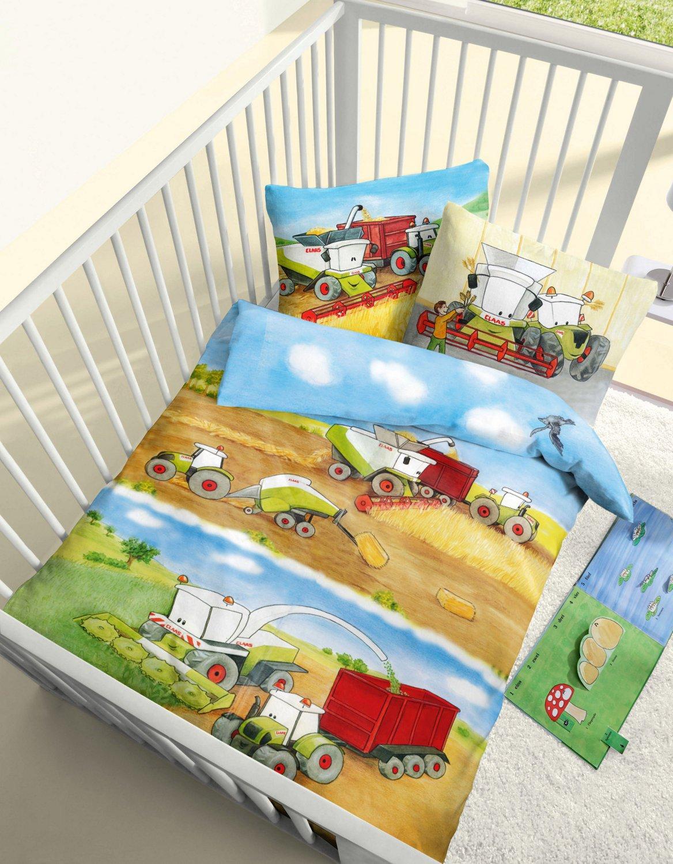 Aminata Kids - süße Kinderbettwäsche Bettwäsche Kinder BIBER 100x135 ...